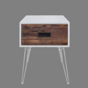 Low priced Brewster End Table By Wrought Studio