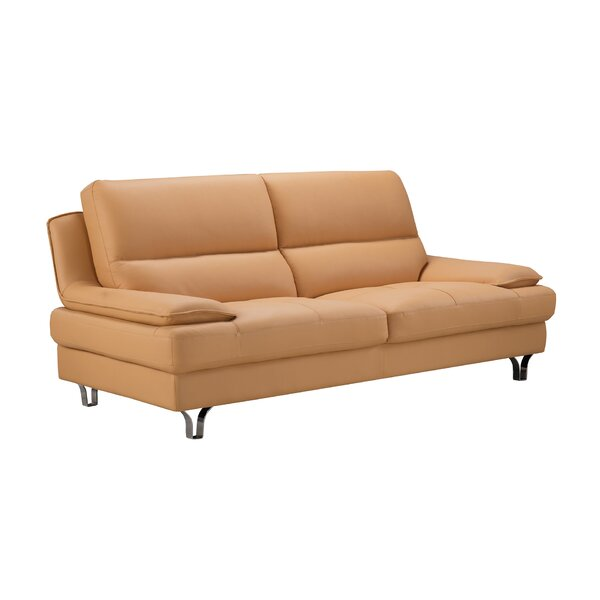 AmericanEagleInternationalTrading Harrison Leather Sofa | Wayfair