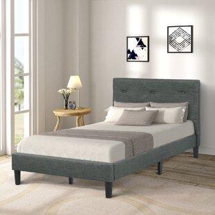 Alisme Twin Low Profile Platform Bed by Latitude Run