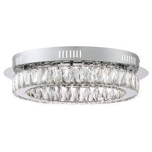 Orren Ellis Coletta 1-Light Flush Mount