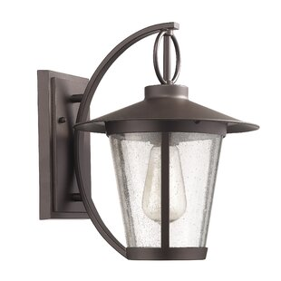 Inexpensive Lavande 1-Light Outdoor Wall Lantern By Gracie Oaks
