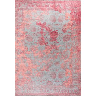 Frencie Vintage Flatweave Red/Blue Rug by benuta