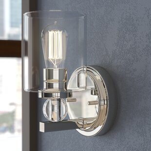 Low priced Friedman 1-Light Bath Sconce By Ivy Bronx