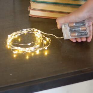 Affordable Maillet Battery String Light (Set of 6) By Wrought Studio