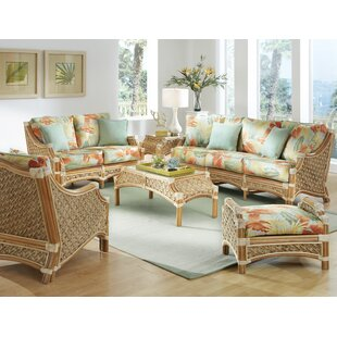 Indoor Wicker Living Room Sets Wayfair