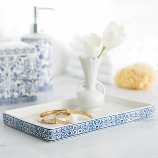Read Reviews Kit Marble Bathroom Accessory Tray By Charlton Home
