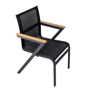 Anoki Stacking Garden Chair (Set Of 2) By Ebern Designs