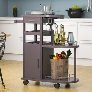 What Is The Most Comfortable Bar Cart Latitude Run Rolling Storage Cabinet Bar Cart