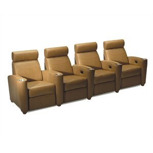 Diplomat Home Theater Lounger (Row of 4) by Bass
