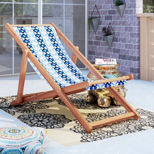 Stacey Cabana Reclining Beach Chair by Bungalow Rose