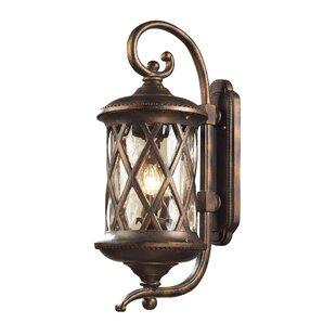 Fleur De Lis Living Whittington 3-Light Outdoor Wall Lantern