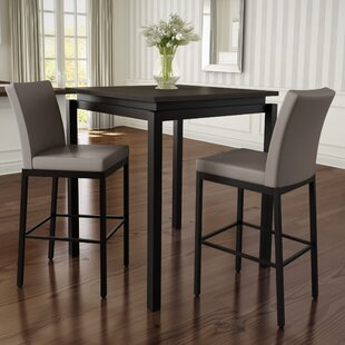 Huizenga 3 Piece Counter Height Pub Table Set Brayden Studio
