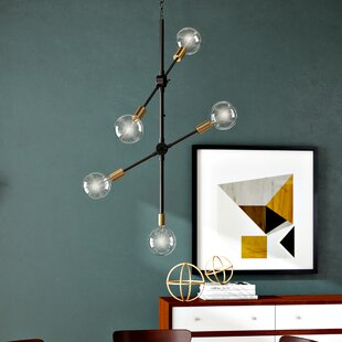 Corrigan Studio Adrianne 5-Light Sputnik Chandelier