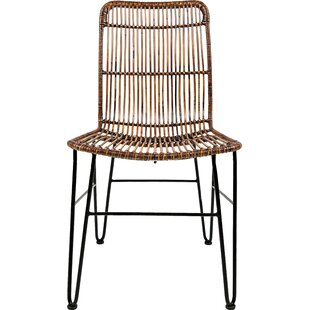 Modern & Contemporary Indoor Wicker Dining Chairs | AllModern