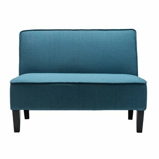 Comparison Devair Armless Loveseat by Ebern Designs Reviews (2019) & Buyer's Guide