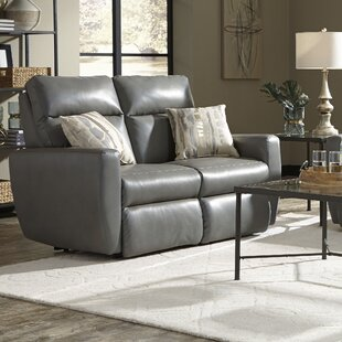 Knockout Leather Reclining Loveseat