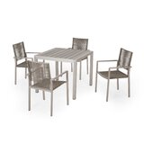 Arthur Outdoor 5 Piece Dining Set