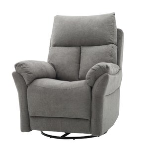 Poche Upholstered Manual Swivel Recliner by Red Barrel Studio