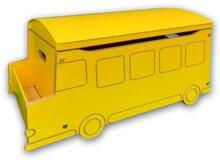 Buy clear Heuer School Bus Toy Box ByZoomie Kids