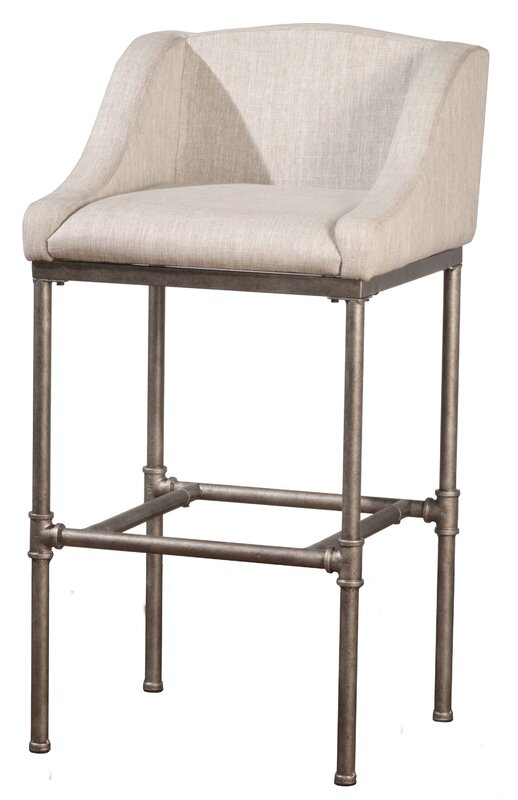 "Laurel Foundry Modern Farmhouse Taube 30"" Bar Stool & Reviews"