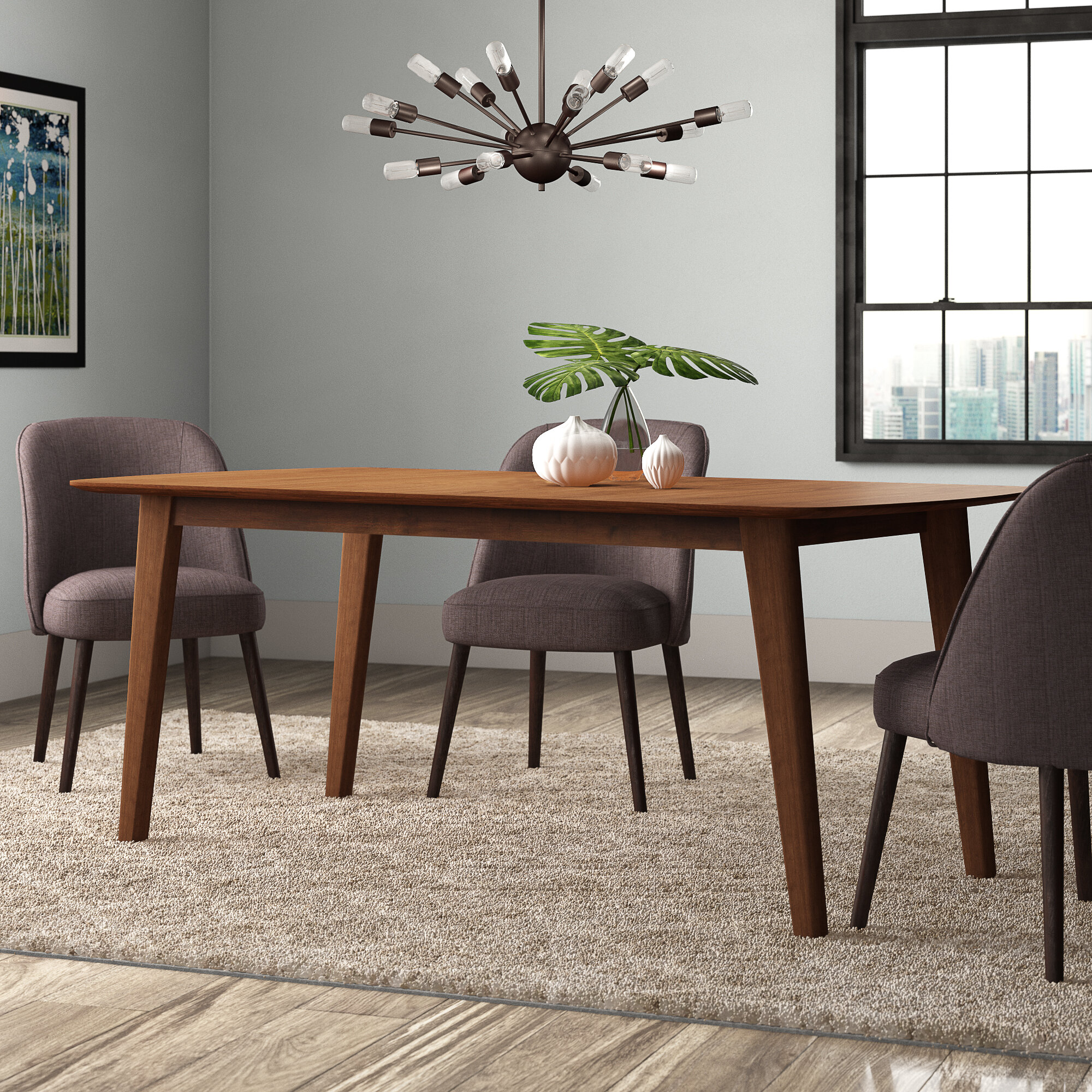 Extendable Mid Century Modern Kitchen Dining Tables You Ll Love In 2021 Wayfair