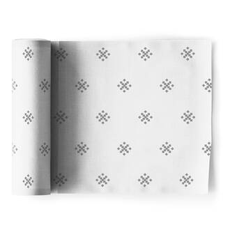 East Urban Home Mcguigan Trellis Pattern Napkin Wayfair