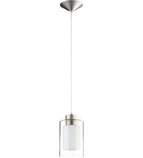 Quorum 1-Light Cylinder Pendant