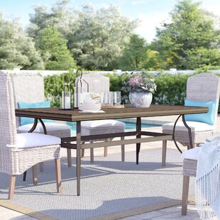 Cadence Plastic/Resin Dining Table by Sol 72 Outdoor