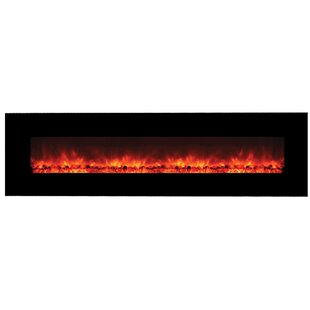 Dedrick Wall Mounted Electric Fireplace by Orren Ellis