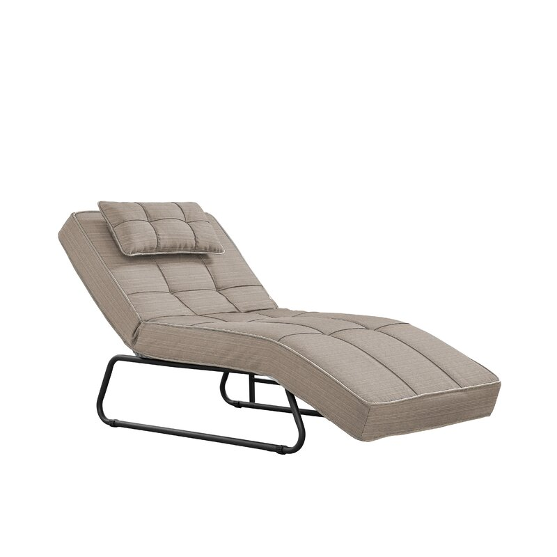 Andrew Reclining Chaise Lounge With Cushion Amp Reviews