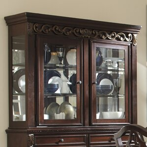 Cedar Creek China Cabinet Top by Three Posts