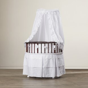 Clearance Marisol Bassinet  with Eyelet Bedding ByViv + Rae