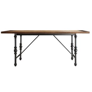 Alpert Solid Wood Dining Table by Williston Forge New