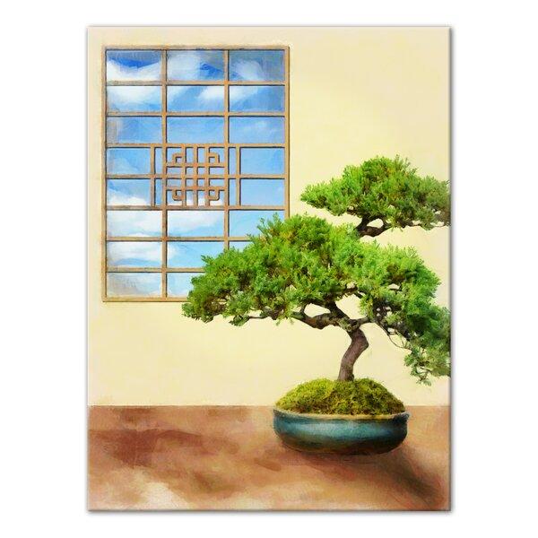 Bonsai Tree Canvas Wayfair