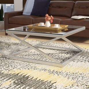 Evadne Coffee Table by Ivy Bronx Modern