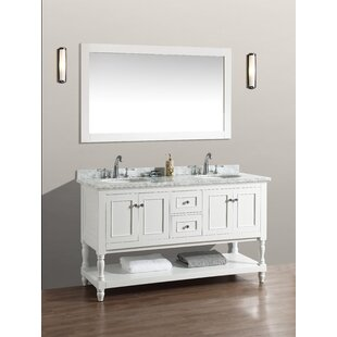 60 Double Bathroom Vanity Set with Mirror by Birch Lane?