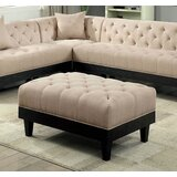 Molter 40 Tufted Rectangle Cocktail Ottoman by House of Hampton®