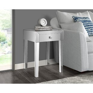 Coupon Broadbent End Table with Storage by Rosdorf Park