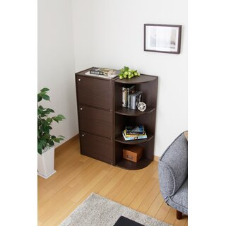 Corner Bookcase by IRIS USA, Inc. SKU:AE970908 Price Compare