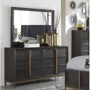Shop For Anstett 6 Drawer Dresser with Mirror by Mercer41