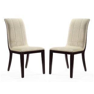 Caseareo Upholstered Dining Chair (Set of 2) by Red Barrel Studio