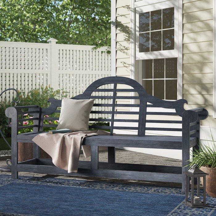 Groovy Ziemer Wooden Garden Bench Pabps2019 Chair Design Images Pabps2019Com