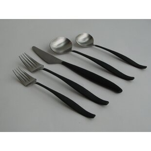 Arc 40 Piece Stainless Steel Flatware Set, Service for 8
