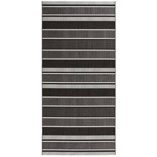 Meadow Woven Black Rug by bougari