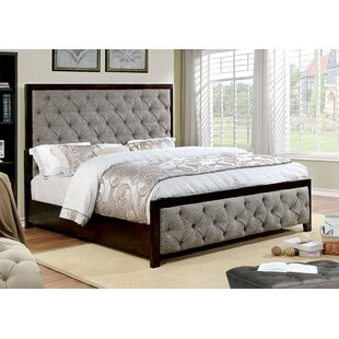 Kansas Upholstered Panel Bed