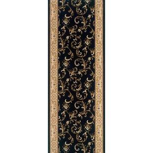Great Price Seoni-Malwa Black Area Rug ByMeridian Rugmakers