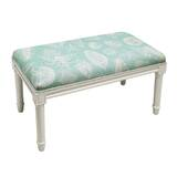 Dedrik Seashells Wood Bench by Highland Dunes