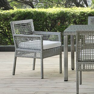 Coaling Outdoor Patio Dining Chair Highland Dunes