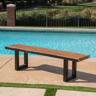 Croghan Outdoor Garden Bench by Foundry Select