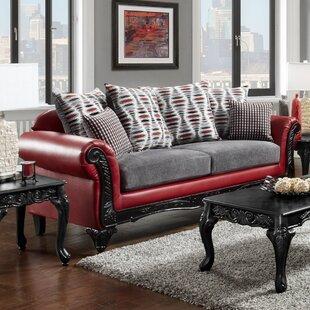 Beau Checkered Couch | Wayfair